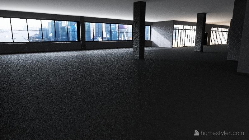 副本-Chilly6A_洗手间方案01 Interior Design Render