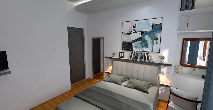 Via Treviso_casa piccola_cucina opzione 2 Interior Design Render