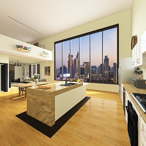 New Yorker Interior Design Render