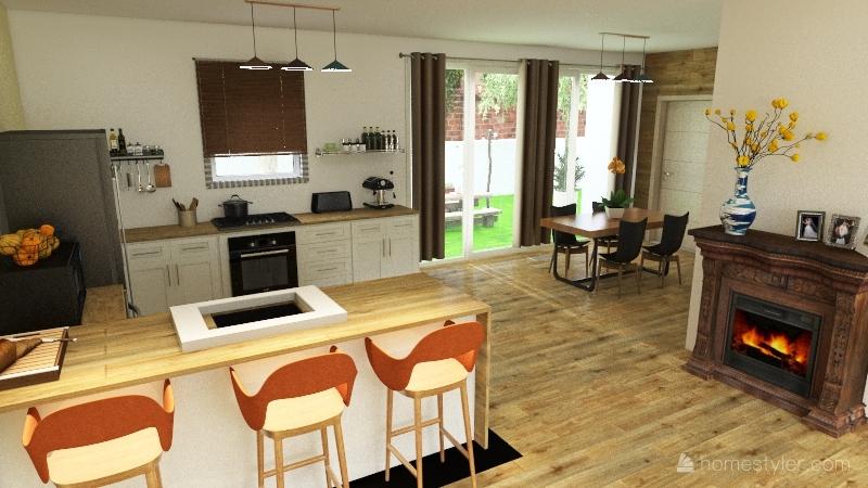 Suburbs Interior Design Render