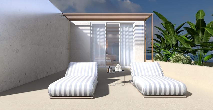 Sea Therapy - etnic house Interior Design Render