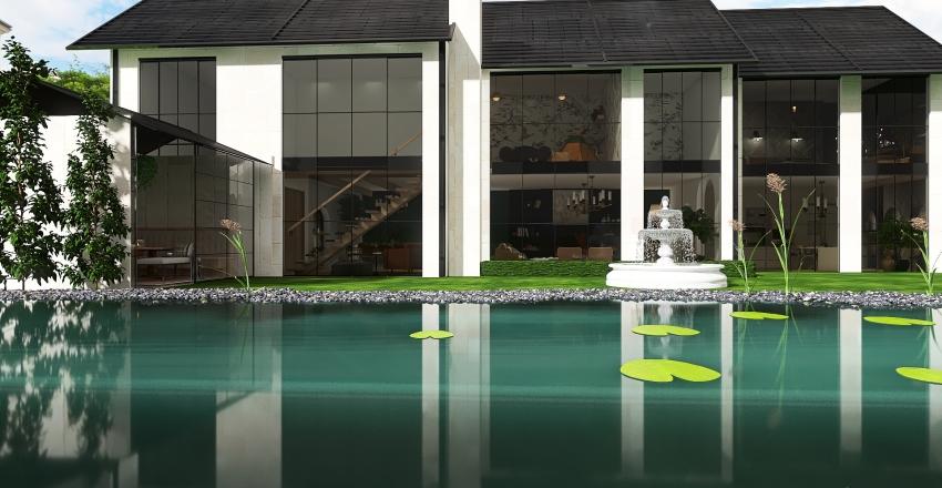 The Lake House Interior Design Render
