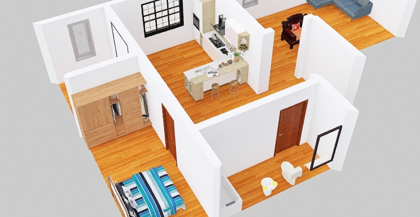 Version1 Interior Design Render