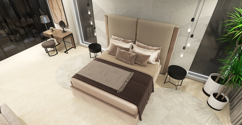 The Black sea apartment Interior Design Render