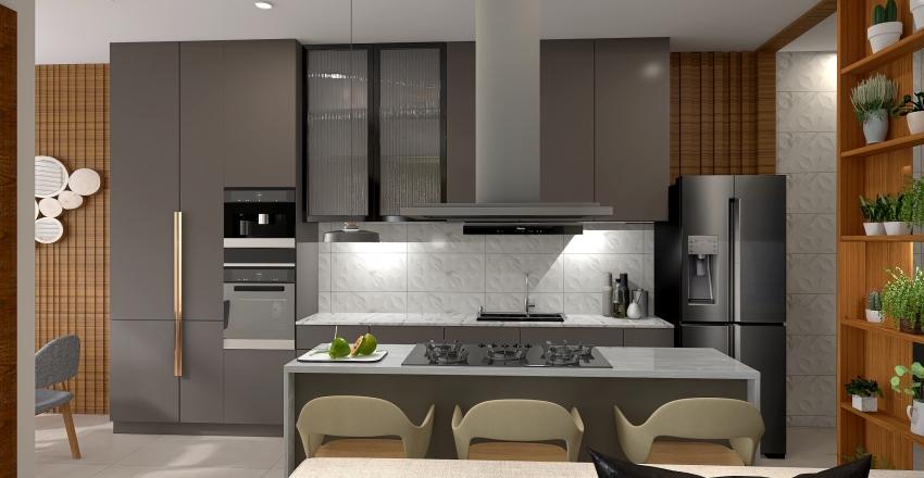 v2_COZINHA 0254 Interior Design Render