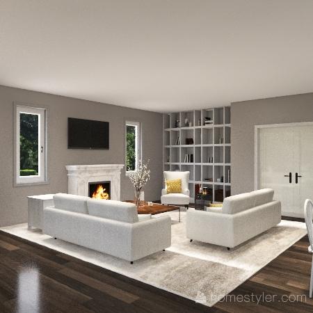 New Construction Build Interior Design Render