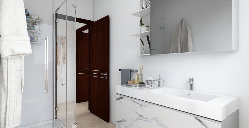 Abbiategrasso_Via Nievo 3_ Interior Design Render