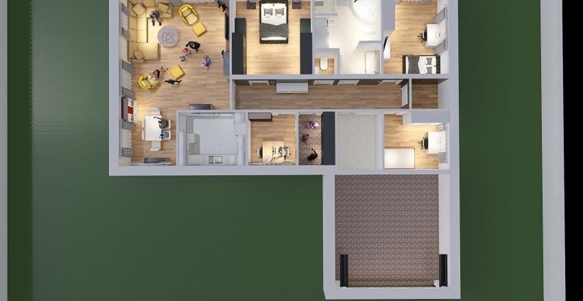 Copy of Nowy dom Interior Design Render