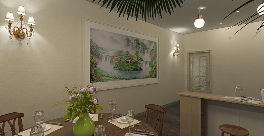 Apartment in Siberia Interior Design Render