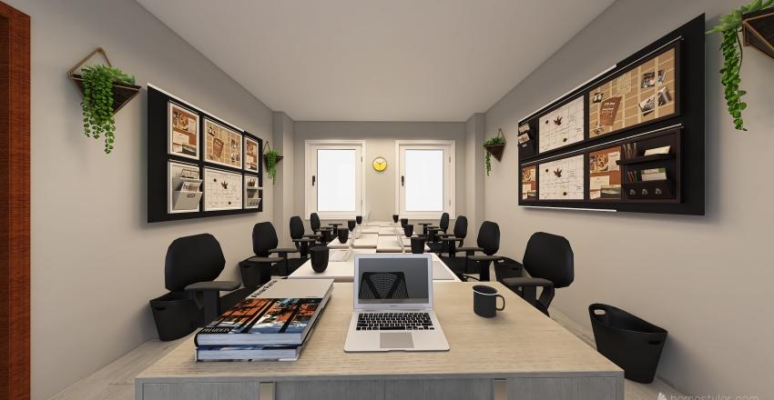 Board Office Design Interior Design Render