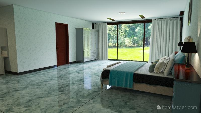 Muller House Interior Design Render