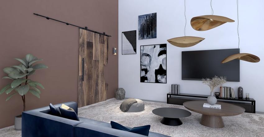 Indu Modern Interior Design Render