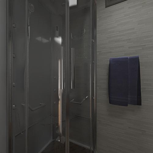 Teucro completa baño cuadrado Interior Design Render