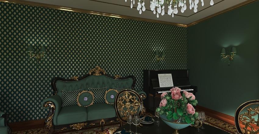 классика пестрая Interior Design Render