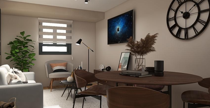 ANDY ARBNB Interior Design Render