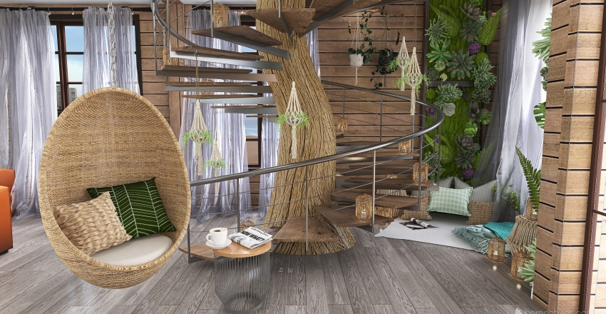 Welcome to the jungle Interior Design Render