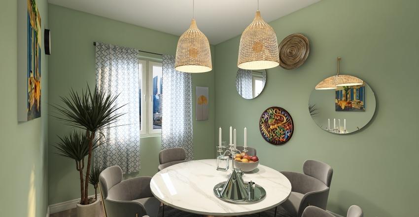 𝒪𝒽𝒶𝓃𝒶 𝐻𝑜𝓂𝑒 Interior Design Render