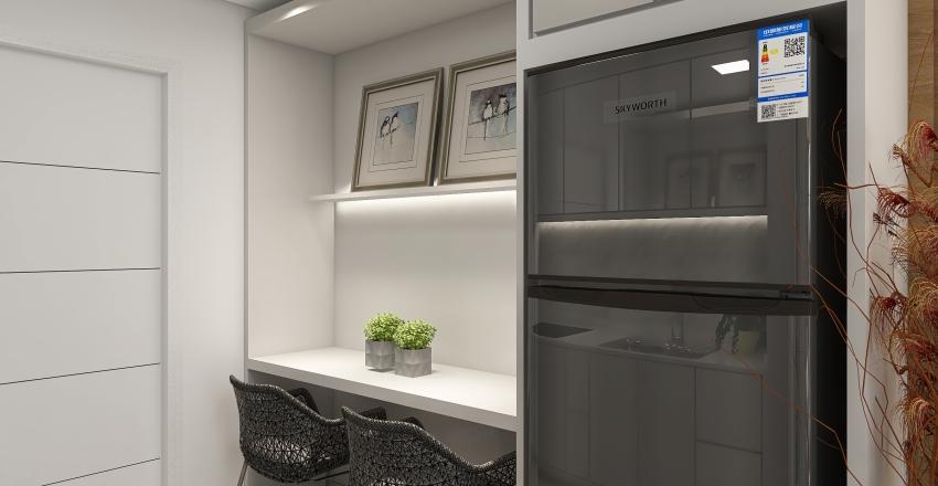 kitnet Interior Design Render