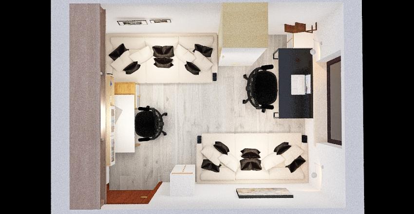 Pokój_Ikełeła Interior Design Render