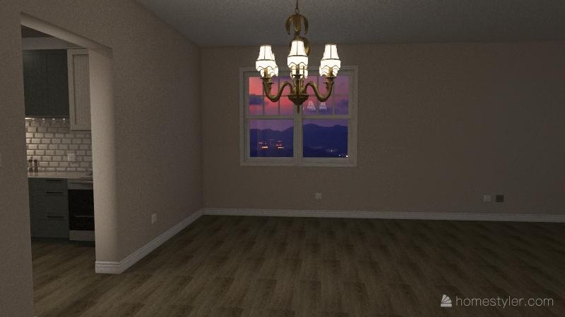 Project Home Living Interior Design Render