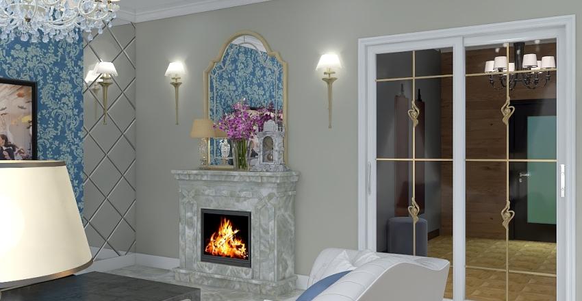 interior in classic style беж Interior Design Render