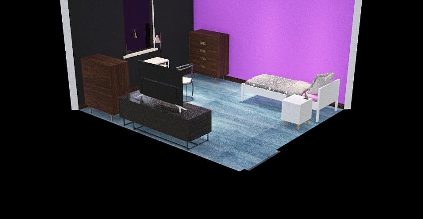 Copy of Dream Bedroom Interior Design Render