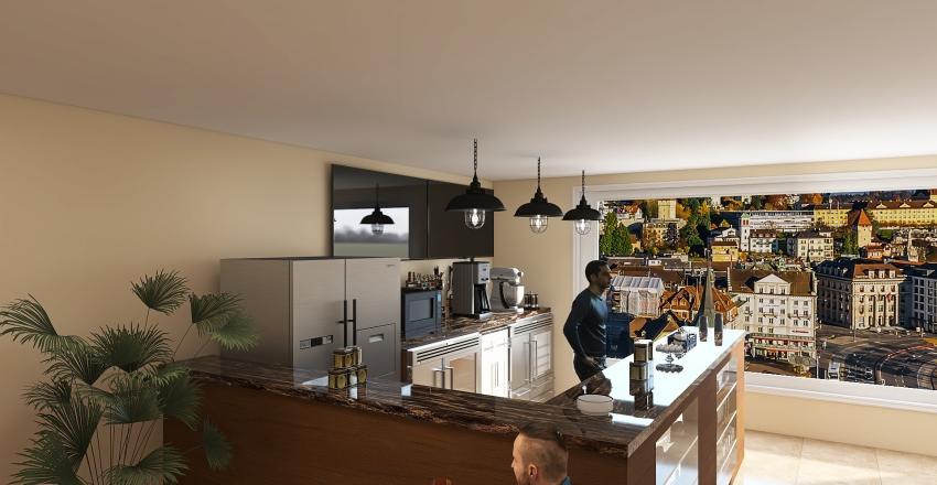 Cake shop Interior Design Render