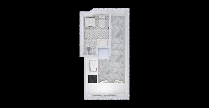 Pikk 2-118 Eva ELEKTER Interior Design Render