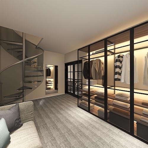 Eco Friendly tiny home! Interior Design Render