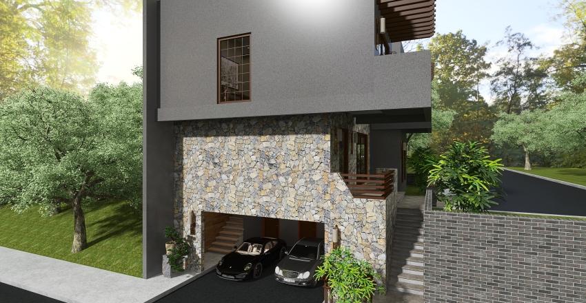 Shinrin-Yoku House Interior Design Render