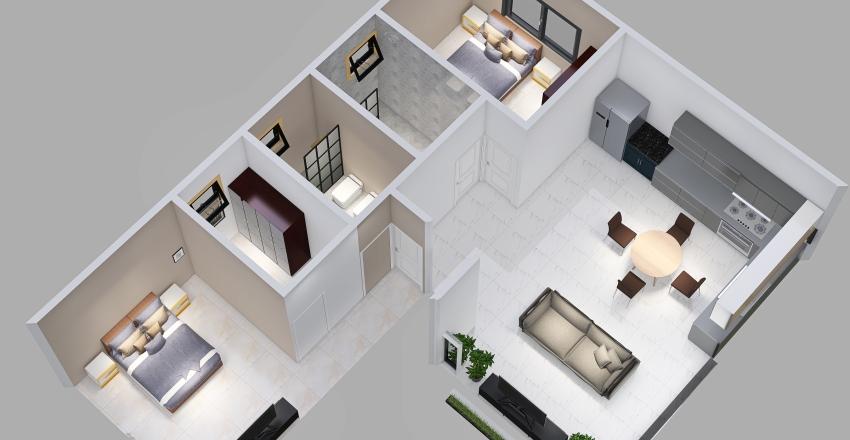 Copy of casa L con ajustes Interior Design Render