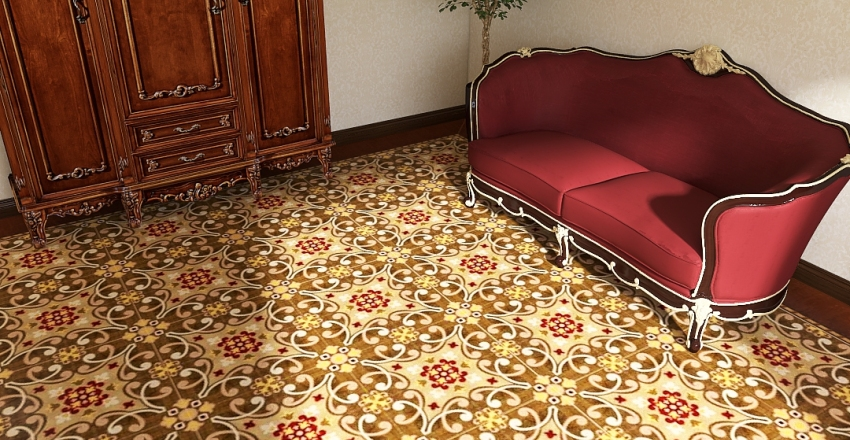 классика радужная Interior Design Render