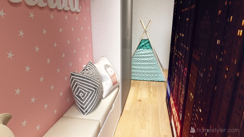 good living Interior Design Render