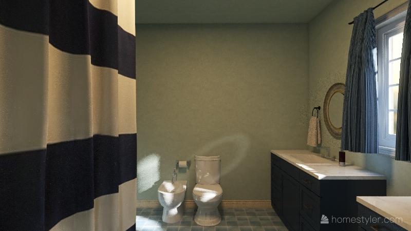 vacation home Interior Design Render