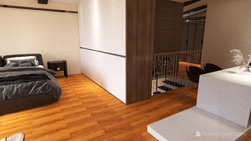 RE do layout of Portugal home Interior Design Render