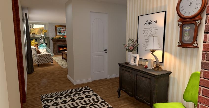 Cliff and Freddie's House Interior Design Render