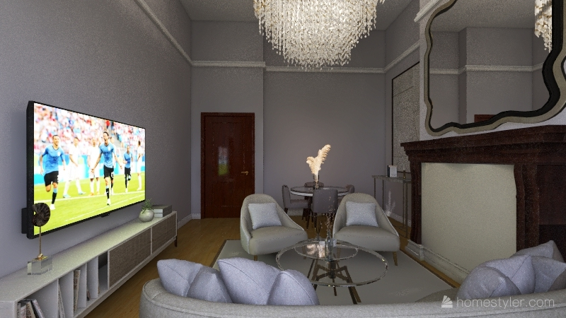LONDON APARTMENT Interior Design Render