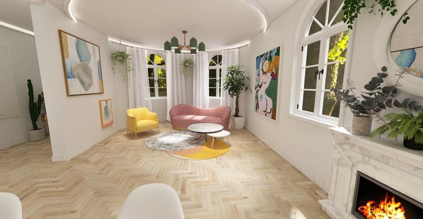 the gambit flat Interior Design Render