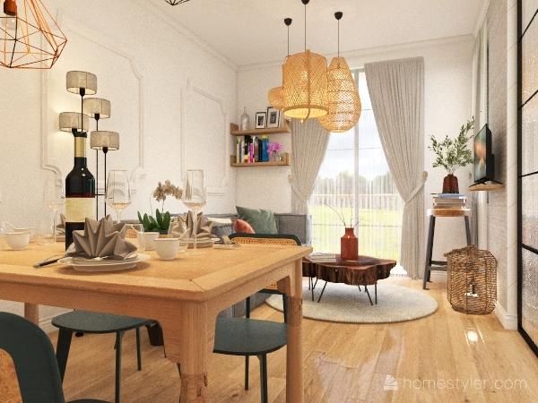 mini appartamento 4 2 Interior Design Render