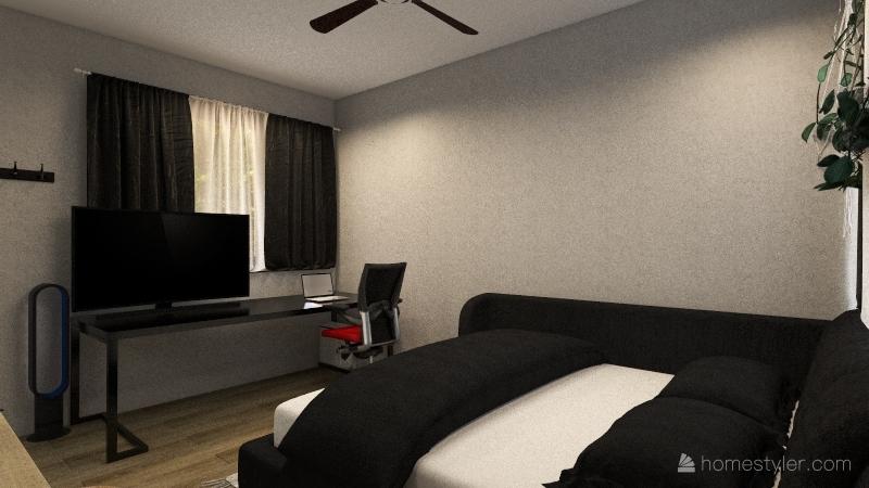 Tiny Temp Home Interior Design Render