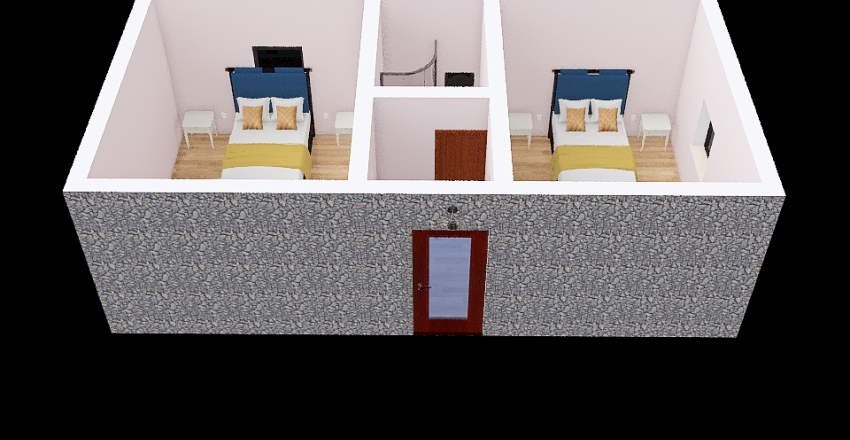 CASA DA GRANJA Interior Design Render