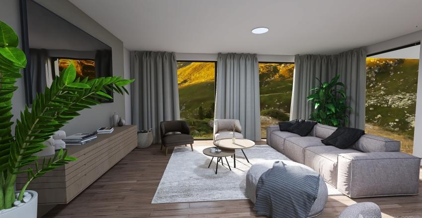 Nude Interior Design Render
