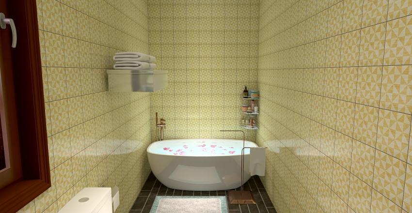 Casa moderna de campo Interior Design Render