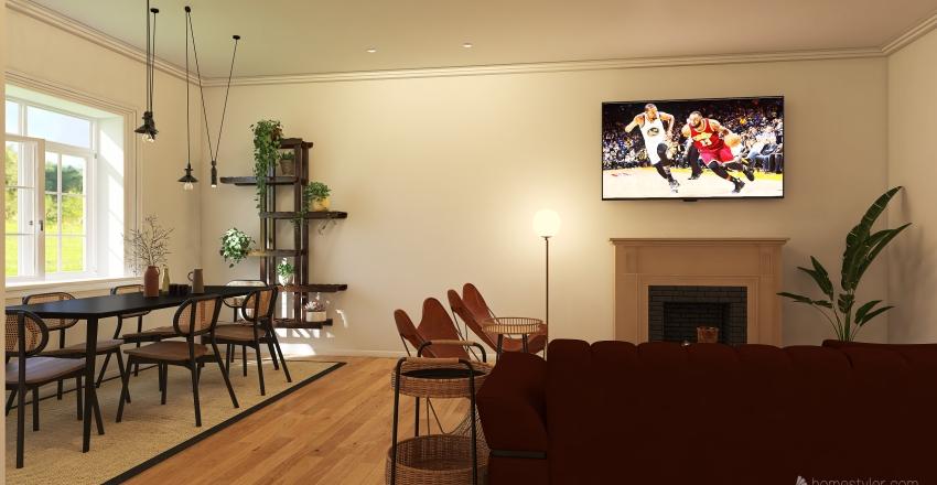 cabañas aires del quebrano Interior Design Render