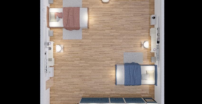 CAMERETTA MARIASOLE Interior Design Render