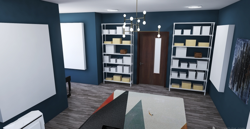 Special Purpose Room Project ADF Interior Design Render