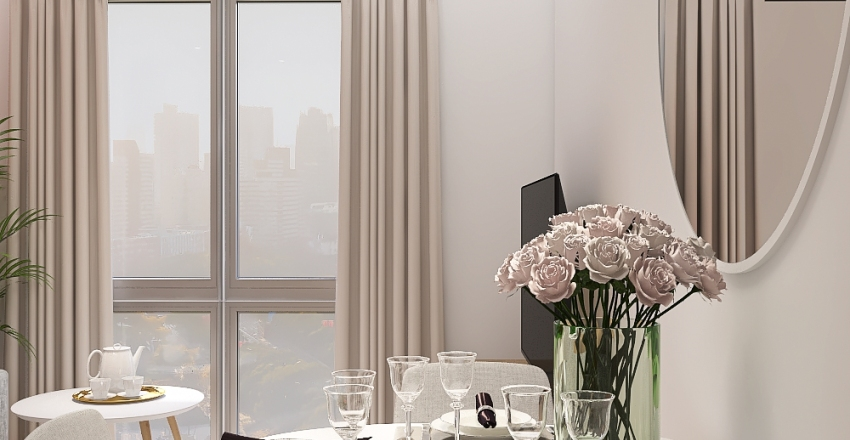 Mieszkanie - Zlecenie 1 Interior Design Render