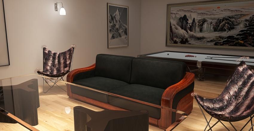 Chill Room Interior Design Render