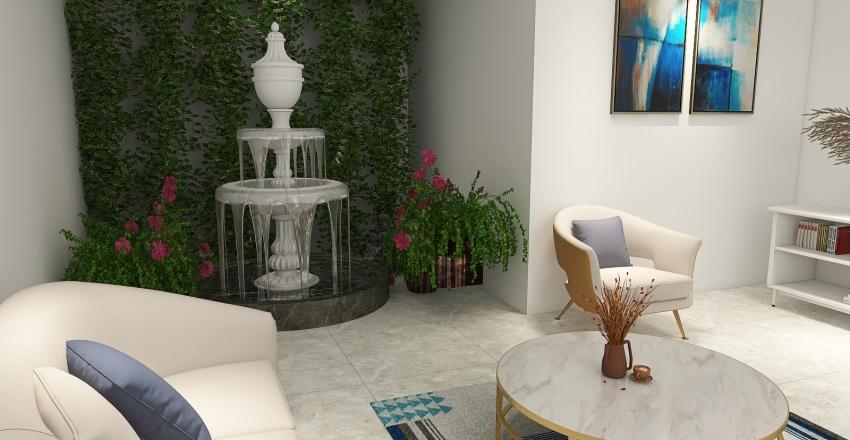 Modern living room ❤ Interior Design Render