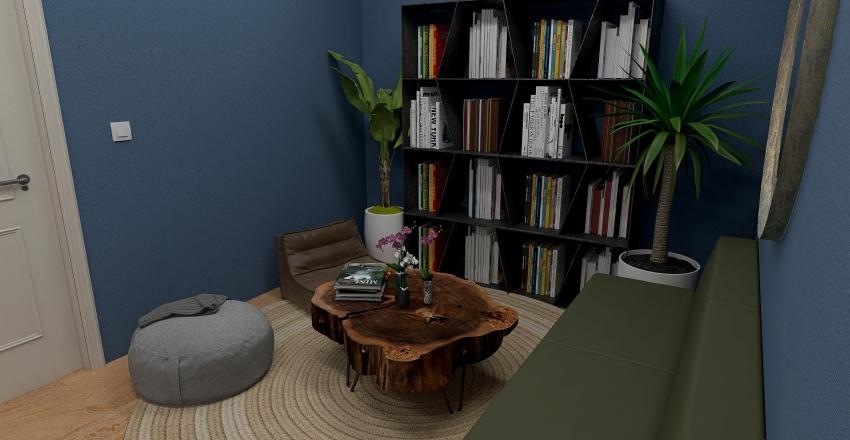 Special Purpose Room Interior Design Render